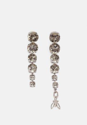 ORECCHINI ASPETTO GENERI - Boucles d'oreilles - black/silver-coloured