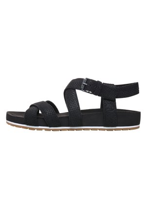 MALIBU WAVES ANKLE - Sandalias - black