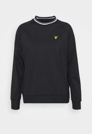 TIPPED TRICOT  - Sweatshirt - jet black