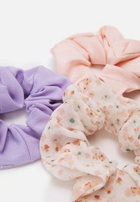 Pieces - PCJUVENA SCRUNCHIE 3 PACK - Hair styling accessory - kentucky blue/rose - 1
