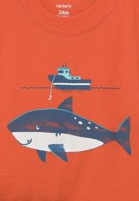 Carter's - STRIPE SET - Print T-shirt - orange - 2
