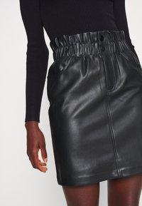 ONLY Tall - ONLMAIYA MIRI SKIRT - Mini skirt - black - 4
