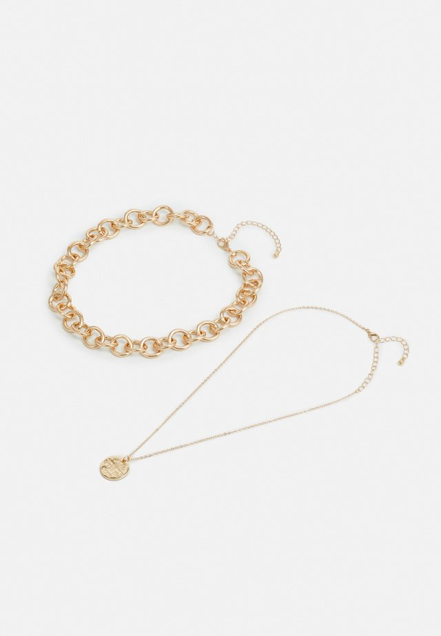 PCDIANO COMBI NECKLACE 2 PACK - Ketting - gold-coloured