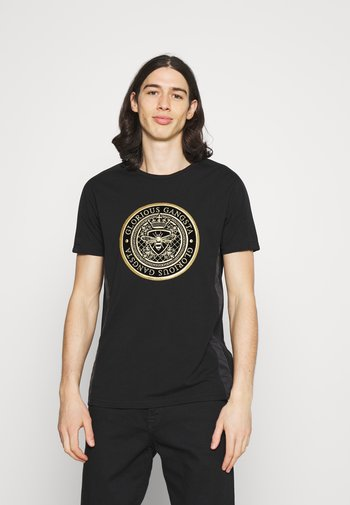 DONAEO TEE - T-shirt imprimé - jet black