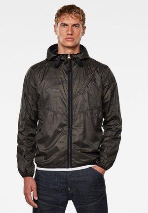 STRETT HOODED - Light jacket - asfalt pattern