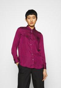 Banana Republic - DILLON SOFT  - Button-down blouse - raspberry - 0