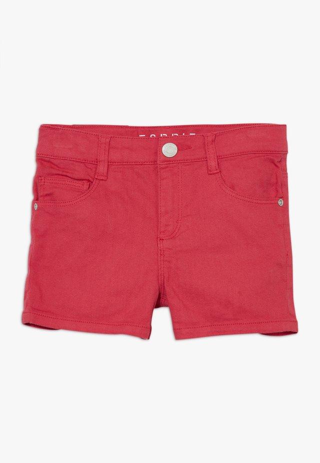 Szorty jeansowe - raspberry