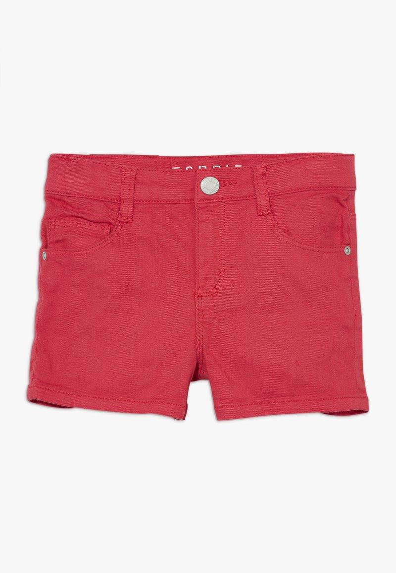 Esprit - Jeansshort - raspberry