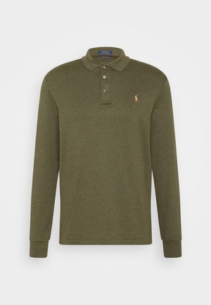 LONG SLEEVE - Polo shirt - oliv