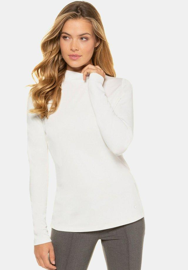 Långärmad tröja - offwhite