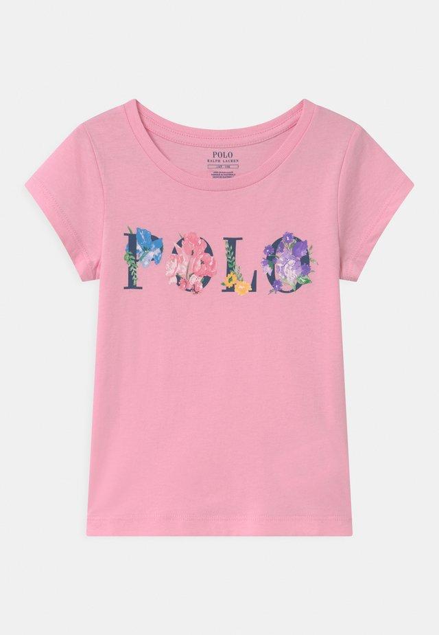 GRAPHIC - T-shirt imprimé - carmel pink