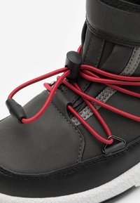 Moon Boot - BOY WP - Zimní obuv - black /castlerock - 5