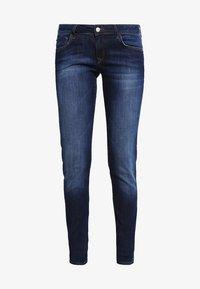 LINDY - Slim fit jeans - dark indigo stretch