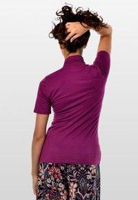 Mava Lóu - Print T-shirt - fuchsia - 1