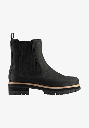 Classic ankle boots - black nubuck