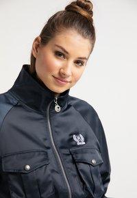 myMo - CROPPED - Light jacket - marine - 3