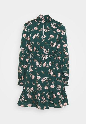 VMROBIN SHORT DRESS - Kjole - ponderosa pine/robin flower
