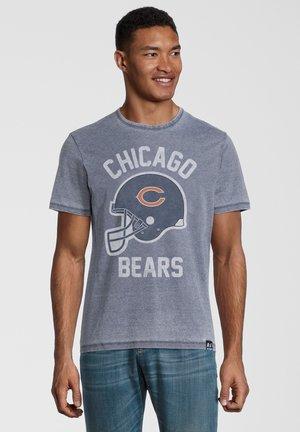 NFL GREEN BAY PACKERS HELMET - T-shirt print - blau