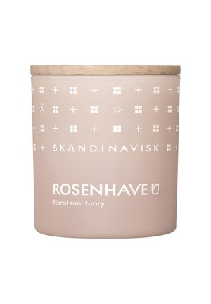 SCENTED CANDLE WITH LID - Scented candle - rosenhave