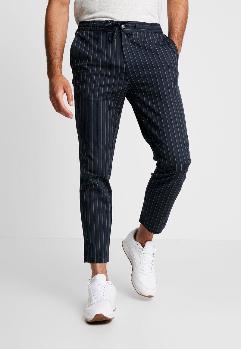Topman - Trousers - dark blue