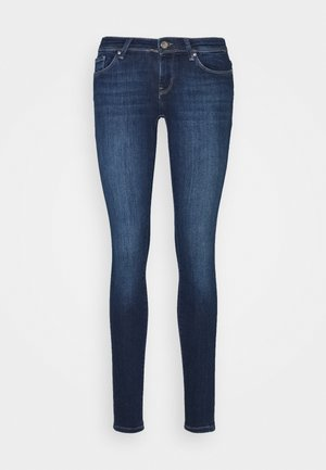 ONLCORAL LIFE - Vaqueros pitillo - dark blue denim