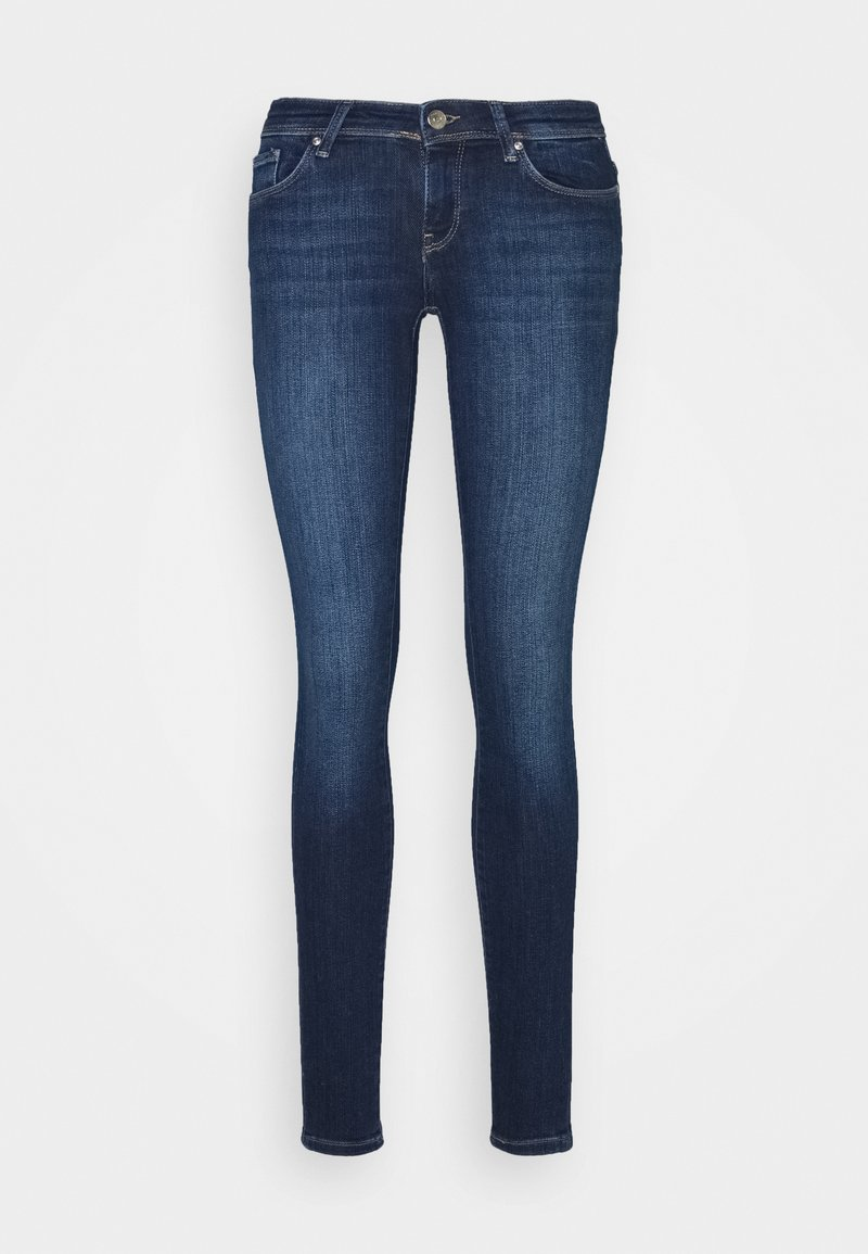 ONLY - ONLCORAL LIFE - Jeans Skinny Fit - dark blue denim