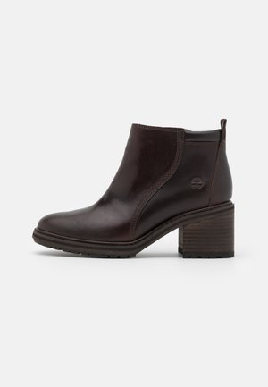 SIENNA HIGH SHOOTIE - Ankle boots - brown