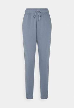LIFESTYLE GYM TRACK PANTS - Tracksuit bottoms - blue jay