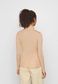 YAS - YASWOOLA - Long sleeved top - tawny brown - 2