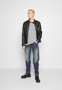 G-Star - WOKKIE - Slim fit jeans - elto pure stretch denim-antic faded baum blue - 1