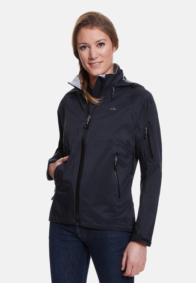JEFF GREEN REGENJACKE AMARA - Waterproof jacket - black