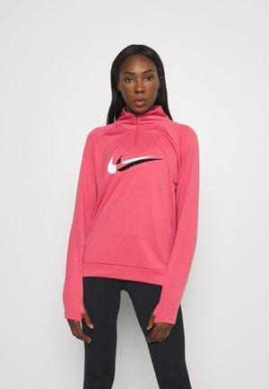 RUN  - Sports shirt - archaeo pink/black/reflective silver