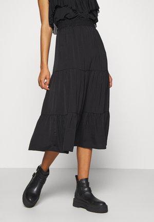 SUNNY SKIRT - Pliceret nederdel /Nederdele med folder - black