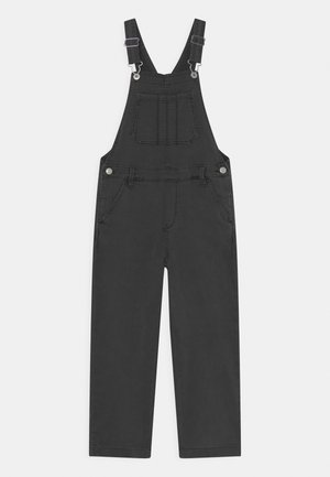 FLARE OVERALL - Dungarees - black denim