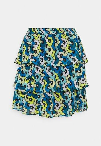 Mini skirt - limeade