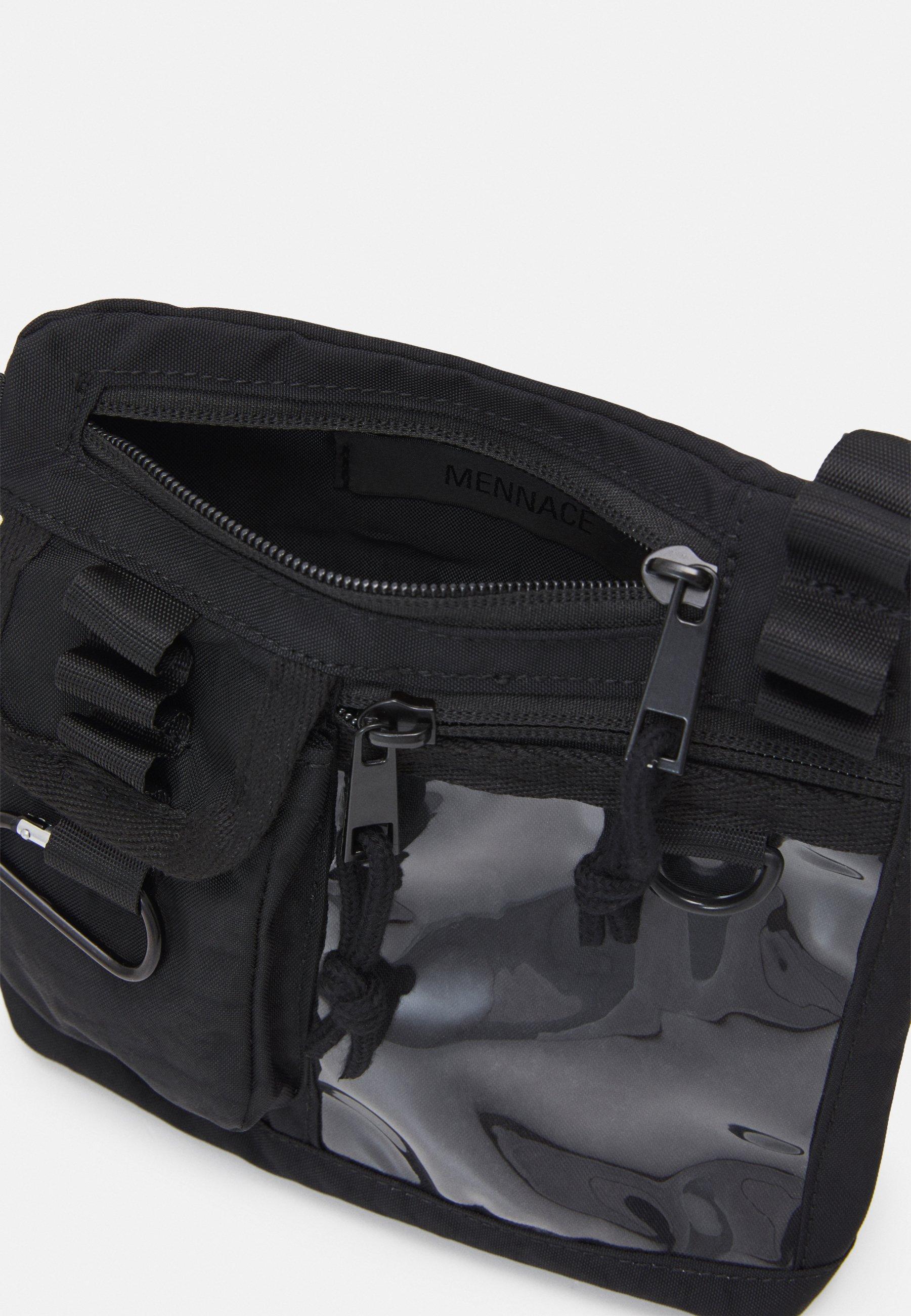 Mennace BADGE UTILITY SIDE BAG - Skulderveske - black/svart nQLW5CSBoK64evt
