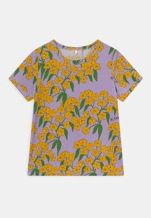 ALPINE FLOWERS TEE - T-shirt print - purple