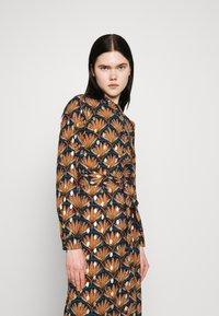 Vila - VIZINO MIDI DRESS - Shirt dress - navy blazer - 4