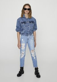 PULL&BEAR - Slim fit jeans - light-blue denim - 1