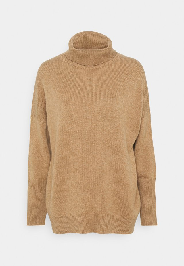 THE RELAXED - Strickpullover - camel