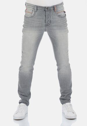 CASPAR - Slim fit jeans - grey denim