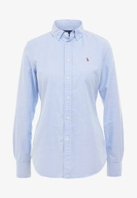 Polo Ralph Lauren - OXFORD SLIM FIT - Button-down blouse - blue hyacinth - 4