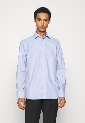 Slim Fit - Checked Dobby Shirt - Formal shirt - blue