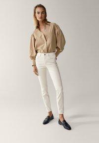 Massimo Dutti - Jeans Skinny Fit - white - 6