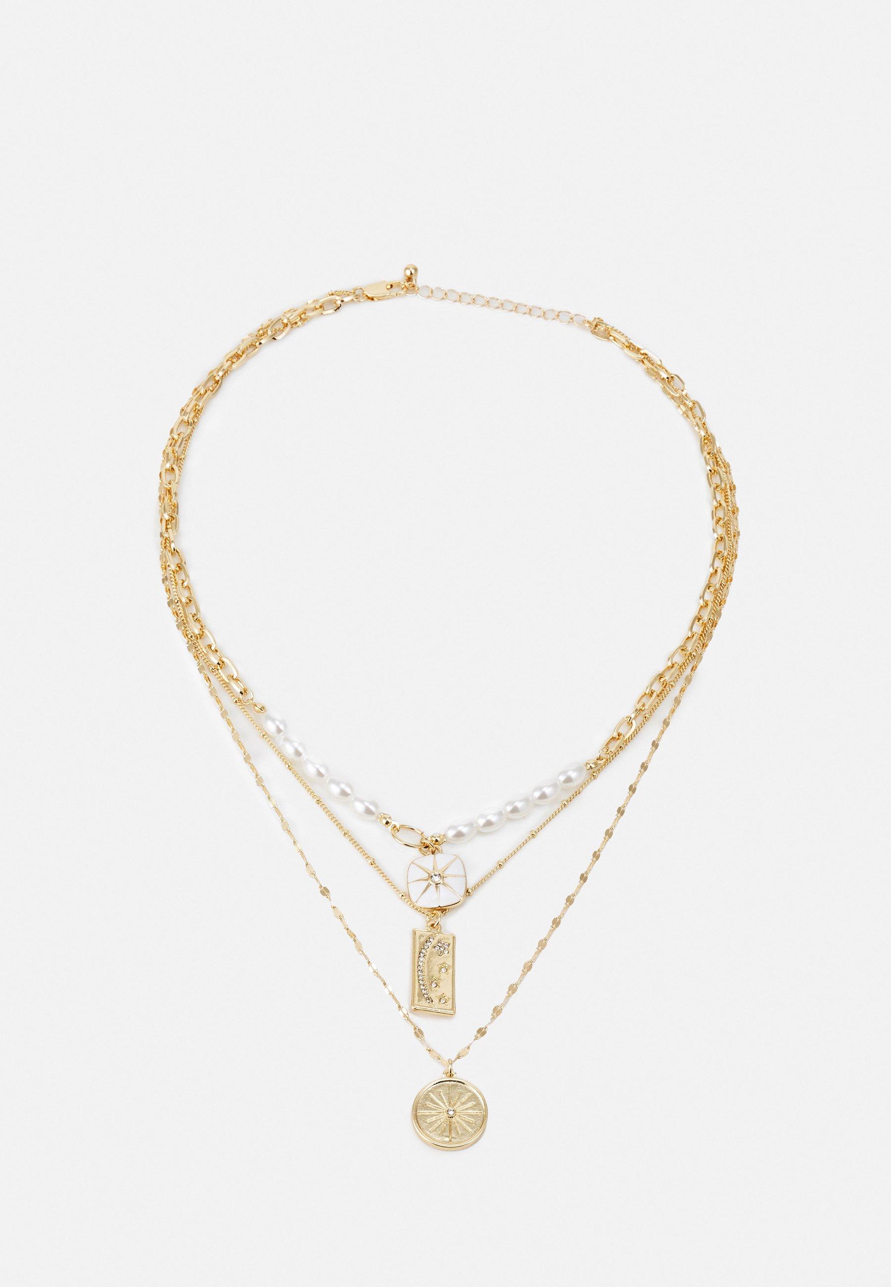 Women PCLILJE COMBI NECKLACE - Necklace