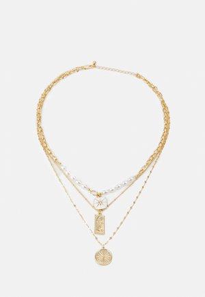 PCLILJE COMBI NECKLACE - Smykke - gold coloured