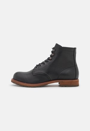 SLHROMAN BOOT - Lace-up ankle boots - black