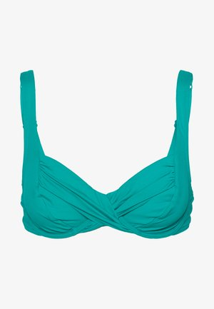 VENUS ELEGANCE - Bikini top - palm green