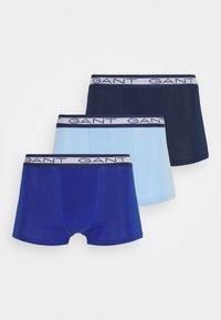 GANT - BASIC TRUNK 3 PACK - Underkläder - capri blue - 0