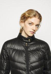 Lauren Ralph Lauren - PEARL SHEEN RACER MOTO SOFT - Down jacket - black - 3